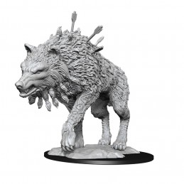 MAGIC THE GATHERING GIANT SIZED COSMO WOLF MINIATURE WIZKIDS