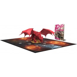 EPIC ENCOUNTERS LAIR OF THE RED DRAGON SET MINIATURE STEAMFORGED GAMES