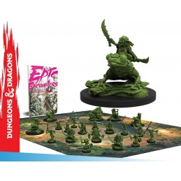 EPIC ENCOUNTERS VILLAGE OF THE GOBLIN CHIEF SET MINIATURES STEAMFORGED GAMES