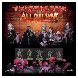 THE WALKING DEAD ALL OUT WAR GIOCO DA TAVOLO ITALIANO