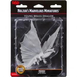 DUNGEONS AND DRAGONS GIANT SIZED YOUNG BRASS DRAGON NOLZUR'S MARVELOUS MINIATURE WIZKIDS