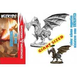 PATHFINDER BATTLES GIANT SIZED CLOCKWORK DRAGON MINIATURE WIZKIDS