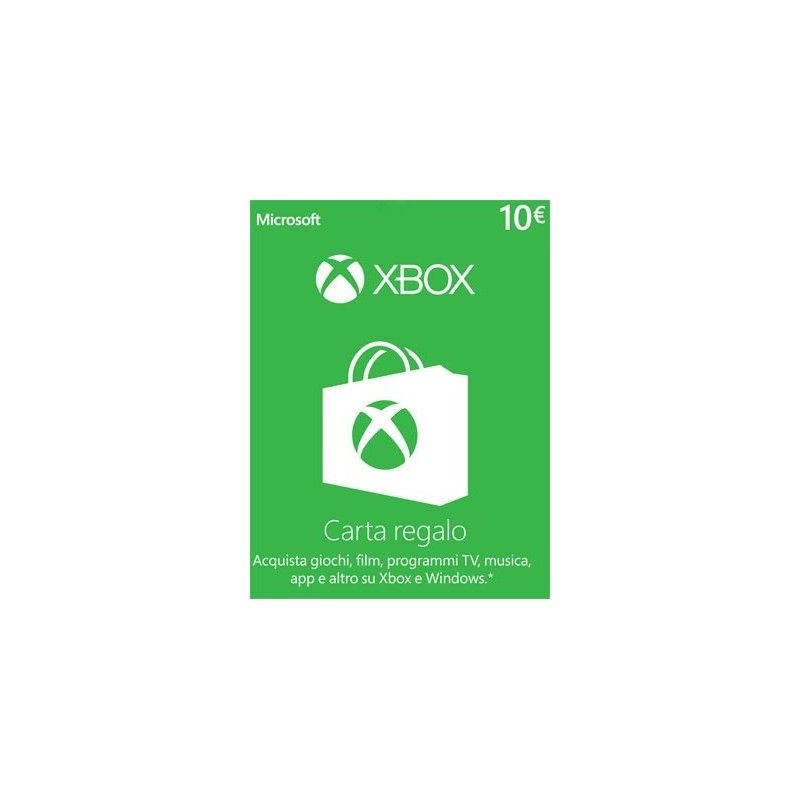 MICROSOFT XBOX LIVE CARD 10 EURO DIGITAL DELIVERY