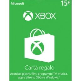 MICROSOFT XBOX LIVE CARD 15 EURO DIGITAL DELIVERY