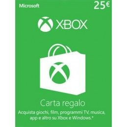 MICROSOFT XBOX LIVE CARD 25 EURO DIGITAL DELIVERY