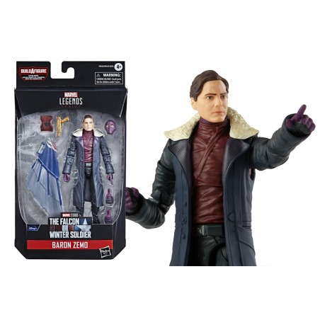 MARVEL LEGENDS THE FALCON AND THE WINTER SOLDIER BARON ZEMO ACTION FIGURE