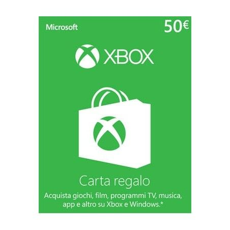 MICROSOFT XBOX LIVE CARD 50 EURO DIGITAL DELIVERY