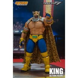 STORM COLLECTIBLES TEKKEN 7 KING 1/12 ACTION FIGURE