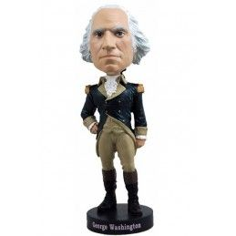 GEORGE WASHINGTON HEADKNOCKER BOBBLE HEAD ACTION FIGURE