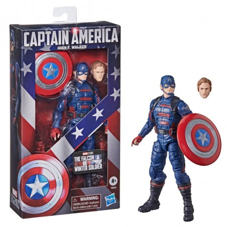MARVEL LEGENDS THE FALCON AND THE WINTER SOLDIER CAPTAIN AMERICA JOHN F. WALKER ACTION FIGURE