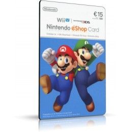 NINTENDO ESHOP CARD 15 EURO DIGITAL DELIVERY