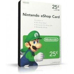 NINTENDO ESHOP CARD 25 EURO DIGITAL DELIVERY