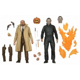 NECA HALLOWEEN 2 ULTIMATE MICHAEL MYERS AND DR. LOOMS ACTION FIGURE