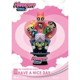 BEAST KINGDOM D-STAGE THE POWERPUFF GIRLS HAVE A NICE DAY STATUE FIGURE DIORAMA