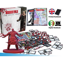 STEAMFORGED GAMES RESIDENT EVIL 3 THE BOARD GAME