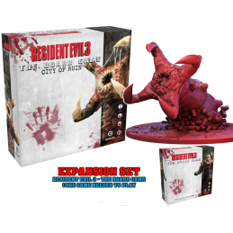 STEAMFORGED GAMES RESIDENT EVIL 3 THE BOARD GAME CITY OF RUIN EXPANSION SET