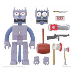 THE SIMPSONS ULTIMATES ROBOT SCRATCHY (GRATTACHECCA) ACTION FIGURE SUPER7