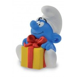 PUFFI SMURFS MOCKING SMURF MINI BANK SALVADANAIO PUFFO FIGURE
