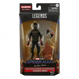 HASBRO MARVEL LEGENDS SPIDER-MAN NO WAY HOME BLACK AND GOLD ACTION FIGURE