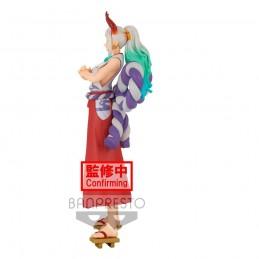 BANPRESTO ONE PIECE DXF GRANDLINE LADY WANOKUNI YAMATO STATUE FIGURE