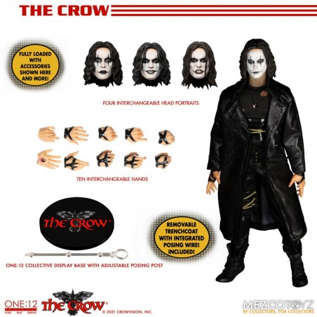 THE CROW ERIC DRAVEN ONE:12 COLLECTIVE ACTION FIGURE