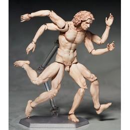 FREEING UOMO VITRUVIANO (VITRUVIAN MAN) TABLE MUSEUM FIGMA ACTION FIGURE