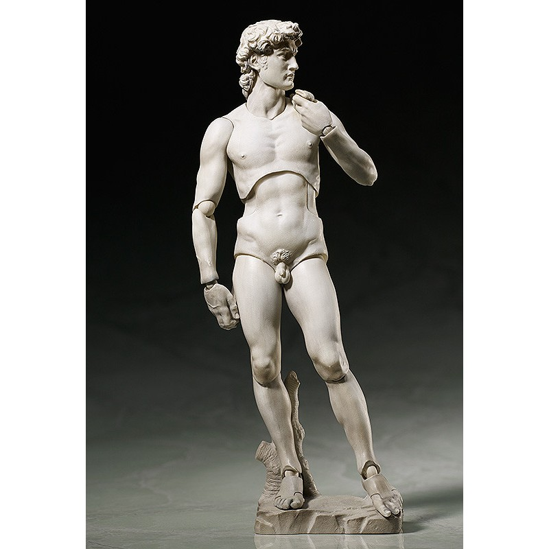 FREEING DAVID BY MICHELANGELO TABLE MUSEUM FIGMA ACTION FIGURE