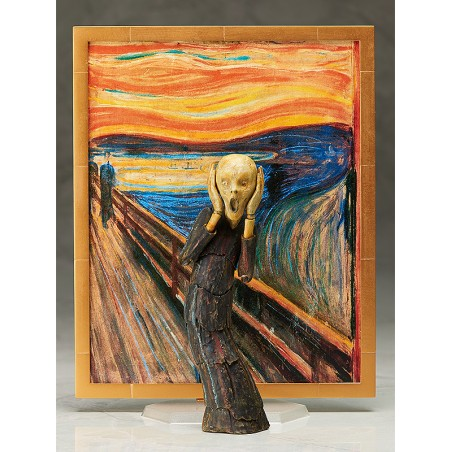 THE SCREAM BY MUNCH TABLE MUSEUM FIGMA ACTION FIGURE