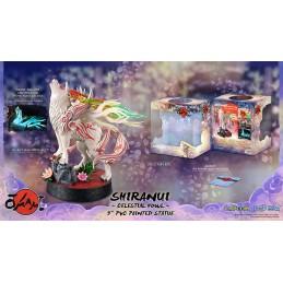 FIRST4FIGURES OKAMI AMATERASU SHIRANUI CELESTIAL HOWL STATUE FIGURE