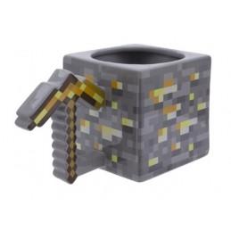MINECRAFT GOLD PICKAXE MUG TAZZA IN CERAMICA PALADONE PRODUCTS