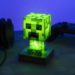 PALADONE PRODUCTS MINECRAFT 3D LAMP ICON CREEPER LIGHT 10CM FIGURE