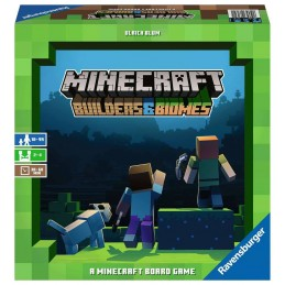 MINECRAFT BUILDERS AND BIOMES BOARDGAME