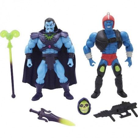 MASTERS OF THE UNIVERSE ORIGINS RISE OF EVIL 2-PACK ACTION FIGURES