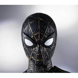 BANDAI SPIDER-MAN NO WAY HOME BLACK/GOLD S.H. FIGUARTS ACTION FIGURE