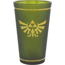 THE LEGEND OF ZELDA HYRULE CREST GLASS BICCHIERE PALADONE PRODUCTS