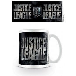 DC MOVIE JUSTICE LEAGUE LOGO CERAMIC MUG TAZZA IN CERAMICA PYRAMID INTERNATIONAL