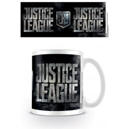 PYRAMID INTERNATIONAL DC MOVIE JUSTICE LEAGUE LOGO CERAMIC MUG