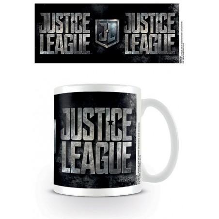 DC MOVIE JUSTICE LEAGUE LOGO CERAMIC MUG