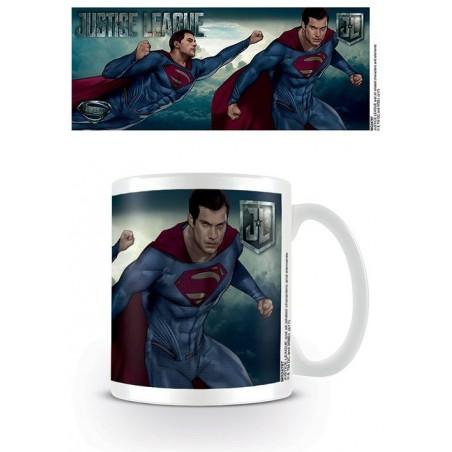 DC MOVIE JUSTICE LEAGUE SUPERMAN CERAMIC MUG