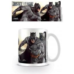 DC MOVIE JUSTICE LEAGUE BATMAN CERAMIC MUG TAZZA IN CERAMICA PYRAMID INTERNATIONAL