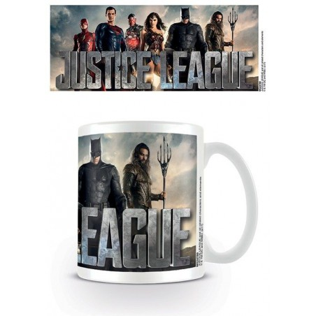 DC MOVIE JUSTICE LEAGUE GROUP CERAMIC MUG