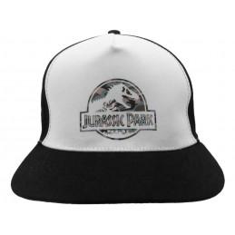 BASEBALL CAP JURASSIC PARK UFFICIALE WHITEBLACK