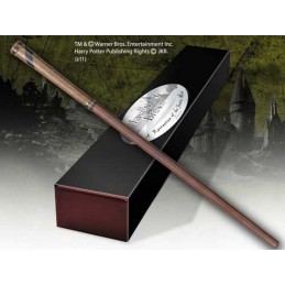 HARRY POTTER WAND LAVENDAR BROWN REPLICA BACCHETTA NOBLE COLLECTIONS