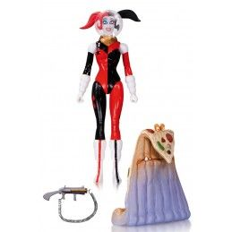 BATMAN DESIGNERS SERIES CONNER SPACESUIT HARLEY QUINN ACTION FIGURE DC COLLECTIBLES