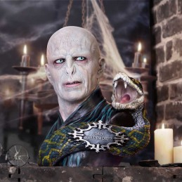 NEMESIS NOW HARRY POTTER LORD VOLDEMORT BUST STATUE RESIN FIGURE