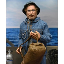 NECA JAWS LO SQUALO - MATT HOOPER AMITY ARRIVAL CLOTHED 20CM ACTION FIGURE