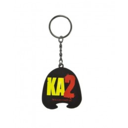 KICK-ASS 2 HIT GIRL MASK METAL KEYCHAIN KEYRING PORTACHIAVI IN METALLO