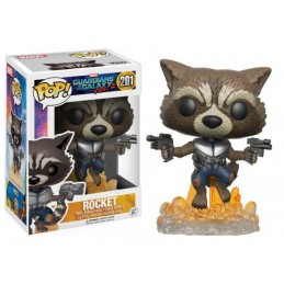 FUNKO POP! MARVEL GUARDIANS OF THE GALAXY VOL 2 ROCKET BOBBLE HEAD KNOCKER