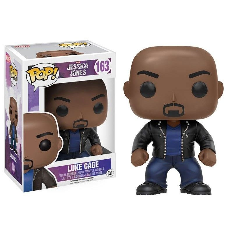 FUNKO POP! JESSICA JONES - LUKE CAGE BOBBLE HEAD KNOCKER FIGURE FUNKO