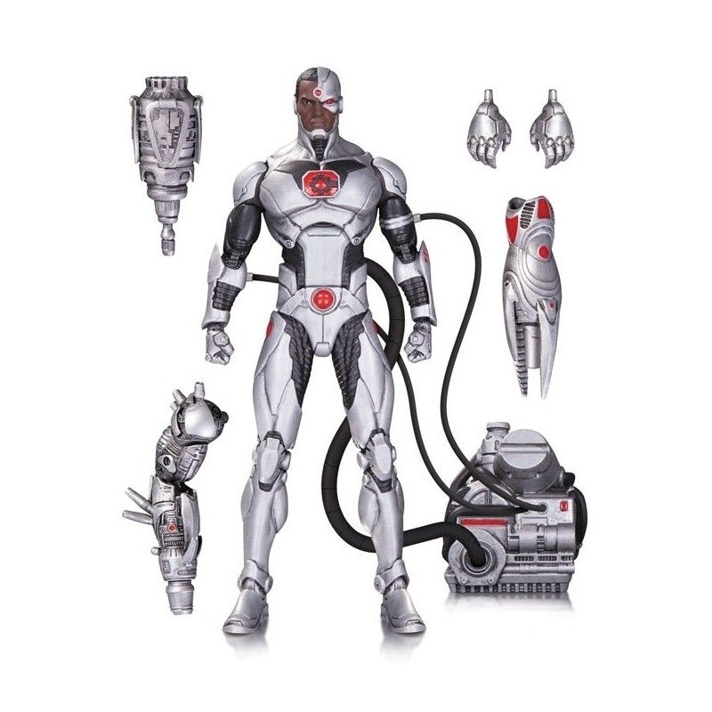 DC COMICS ICONS - JUSTICE LEAGUE CYBORG DELUXE ACTION FIGURE DC COLLECTIBLES